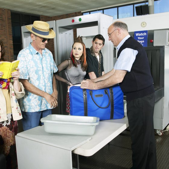 Get through security smoothly by following rules set up by the Transportation Security Administration.