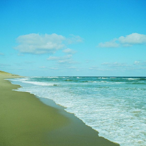 Falmouth is less than 50 miles from Cape Cod's Marconi Beach.