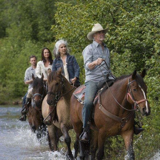 Visitors to Cherokee have numerous options when it comes to horseback riding excursions.