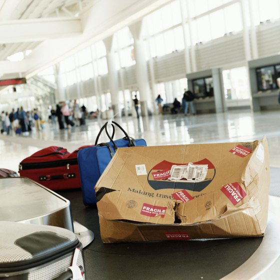 Stick to airline luggage guidelines to avoid damage.