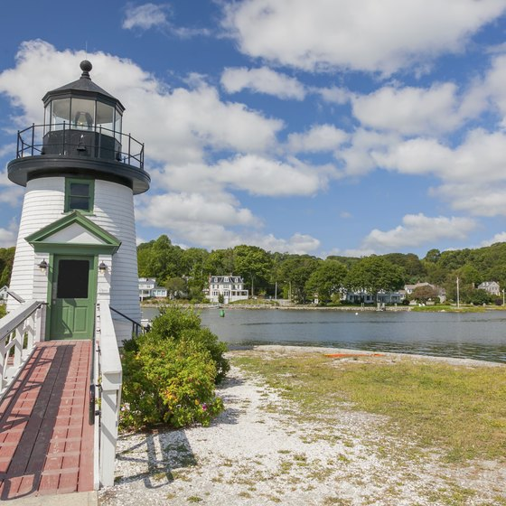 There's more to see in Mystic, Conn., besides its famous pizza restaurant.