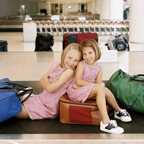 Each airline has its own policy regarding minor children and age requirements.
