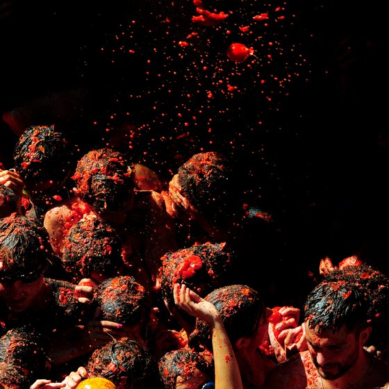 If you are in eastern Spain in late August, make your way to the red pulp-filled spectacle of Buñol's Tomatina festival.