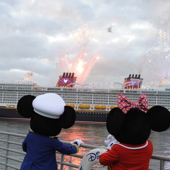 Disney is one of several cruise lines to depart from Cape Canaveral.