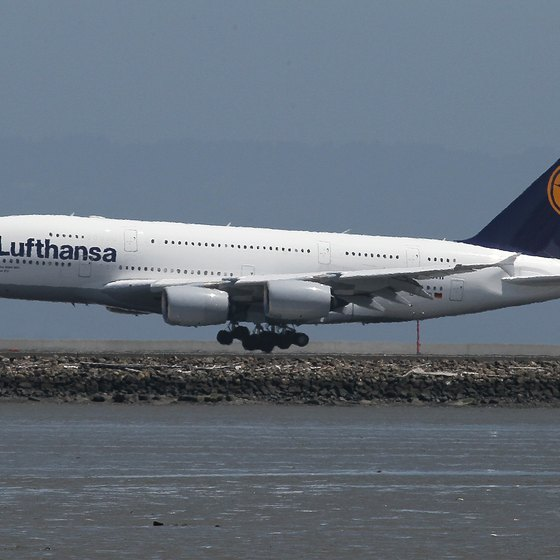 Lufthansa's baggage rules allow all passengers one or more free checked bags.