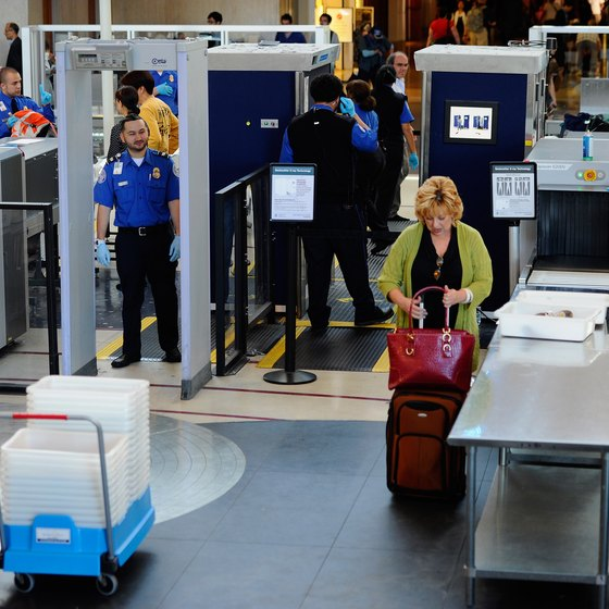 Know which items you are not allowed to check or carry on to make a smooth trip through security.