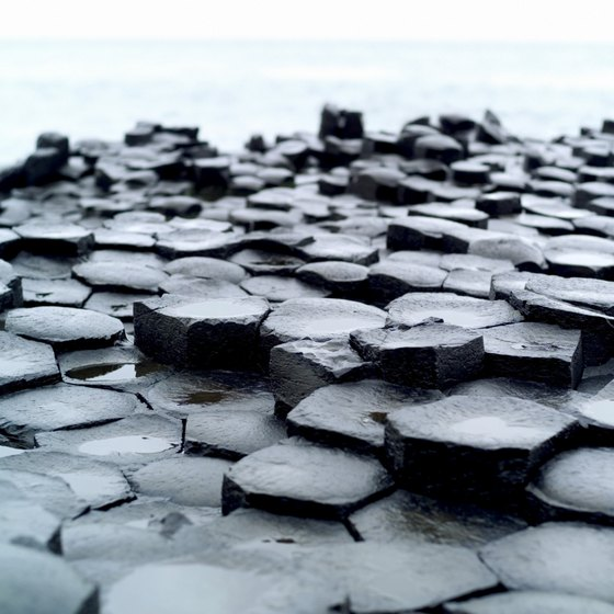 The Giant's Causeway is a UNESCO World Heritage site.