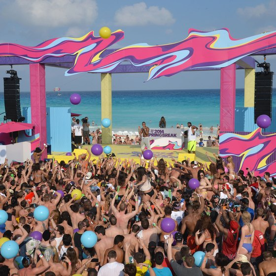 The Oasis Cancun serves as the unofficial Spring Break headquarters.