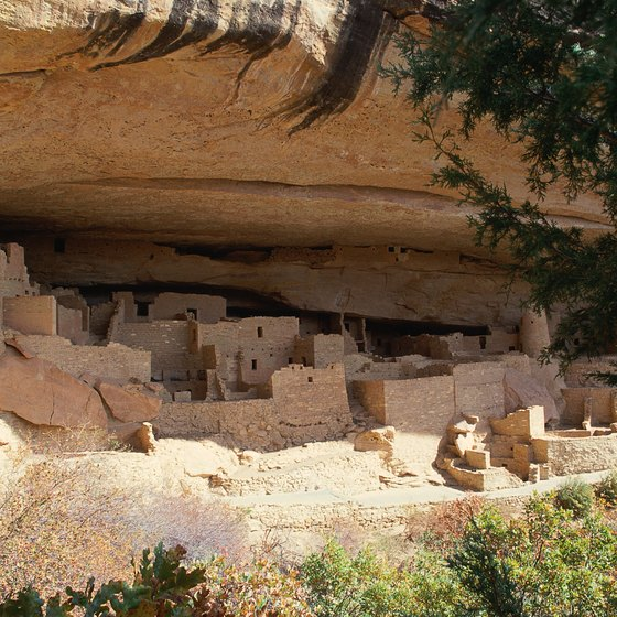 Archaeological tours explore ancient cliff dwellings in Colorado's Mesa Verde National Park.