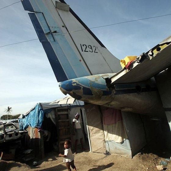 Infrastructure is minimal at most of Haiti's airports.