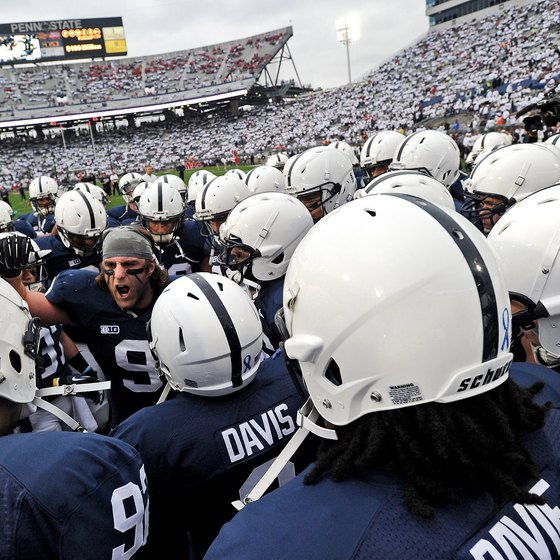 Penn State's football team is the Nittany Lions.