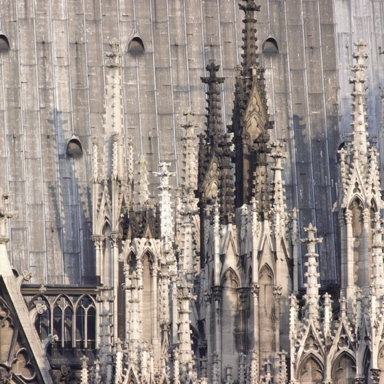 Cologne's main tourist attraction is the Gothic cathedral in the center of town.