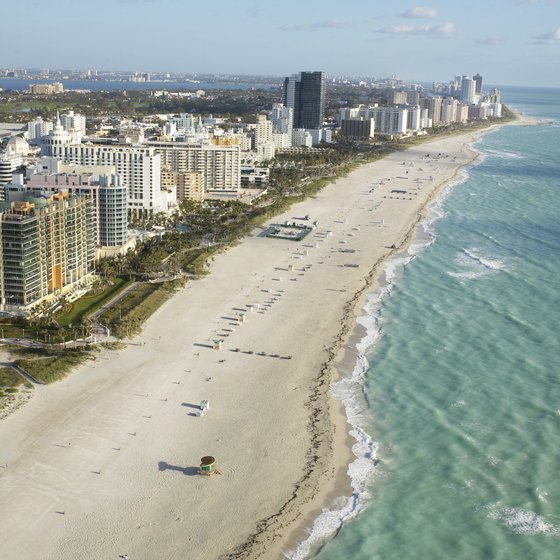 Miami Beach is a global destination for the celebrity party set.