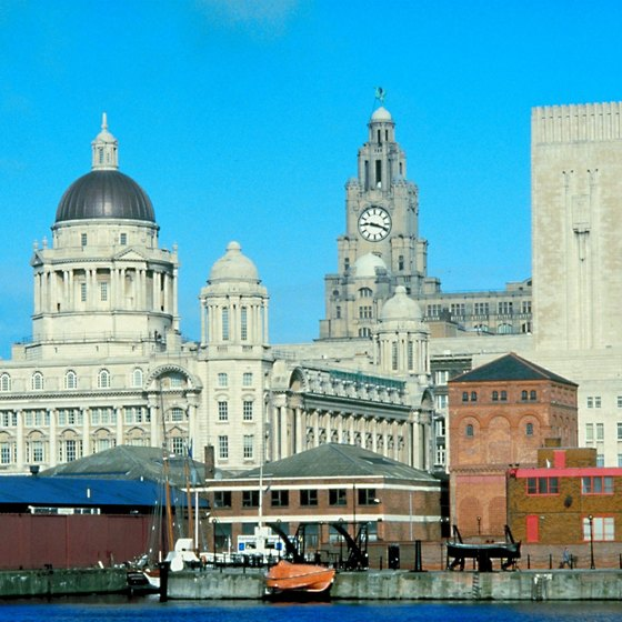 Liverpool's waterfront and Albert Dock attract large numbers of visitors.