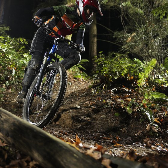 Mountain biking trails are easy to reach from Seattle.
