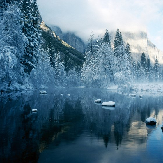 Book in the off-season for skiing, striking scenary and inexpensive resort lodging in Yosemite.