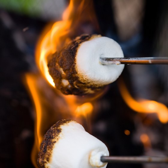 Roast Marshmallows Over The Campfire At McPhee Campground