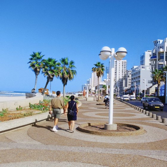 Holon is adjacent to sunny Tel Aviv.