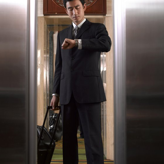 Keeping your suit in shape for business travel is important.