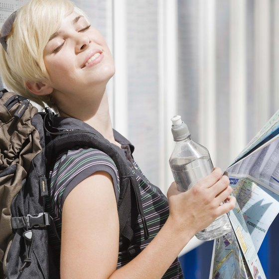 Stick to bottled water while traveling to avoid digestive troubles.