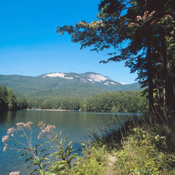Gainesville area state parks are near the Blue Ridge Mountains.