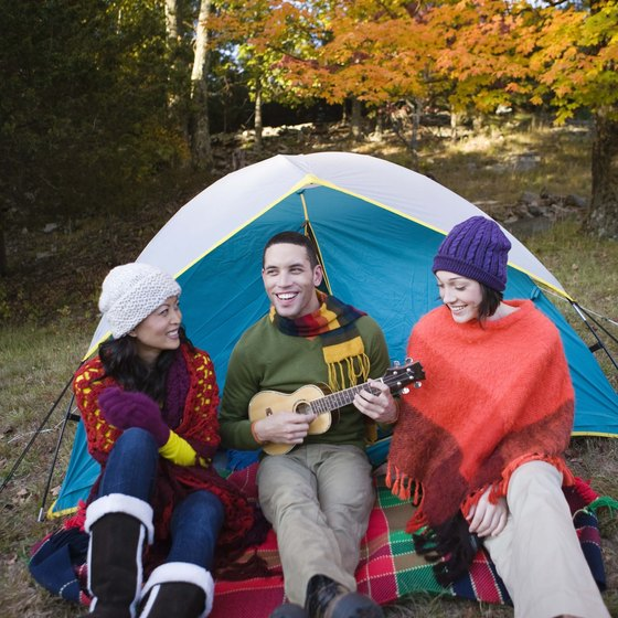 Enjoy marshmallows, music and friendship at campgrounds near the PA/DE border.