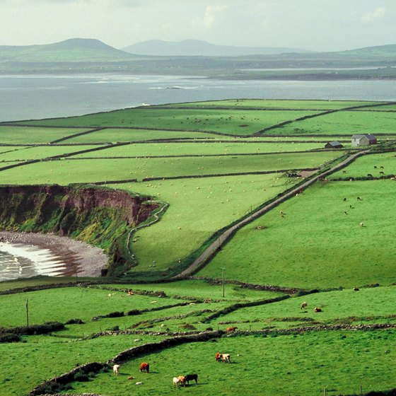 U.S. green card holders may visit the green hills of Ireland with a tourist visa.
