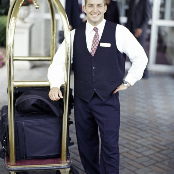 Higher end hotels provide services that encourage customary tipping.