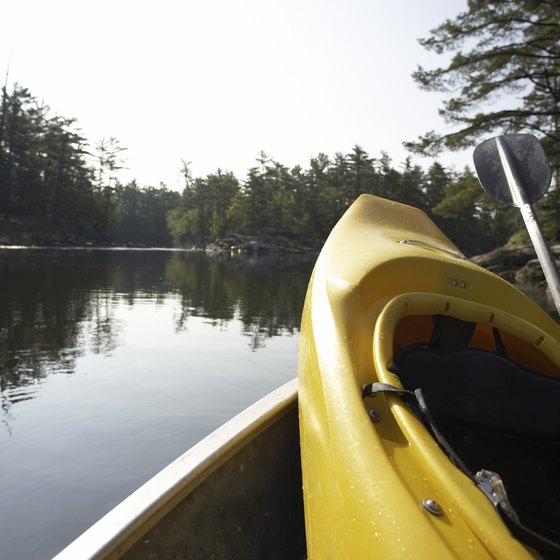 A kayak trip along Ohio's scenic Mohican River can be a relaxing way to spend a day.