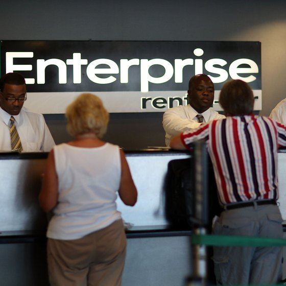 Enterprise provides several insurance options for renters.
