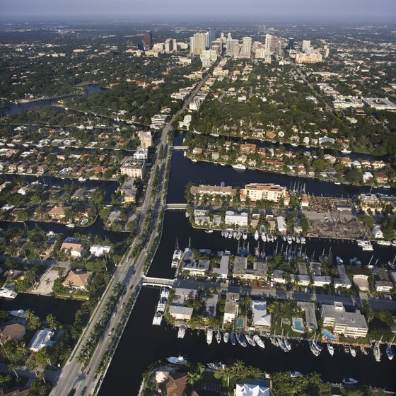 Fort Lauderdale is the a popular tourist city in Broward County.