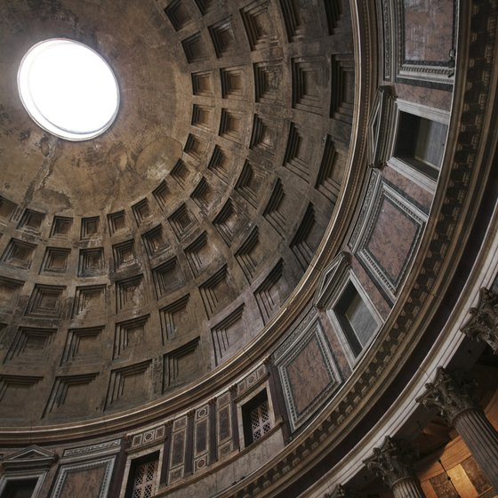 Visit the Pantheon in Rome, Italy.