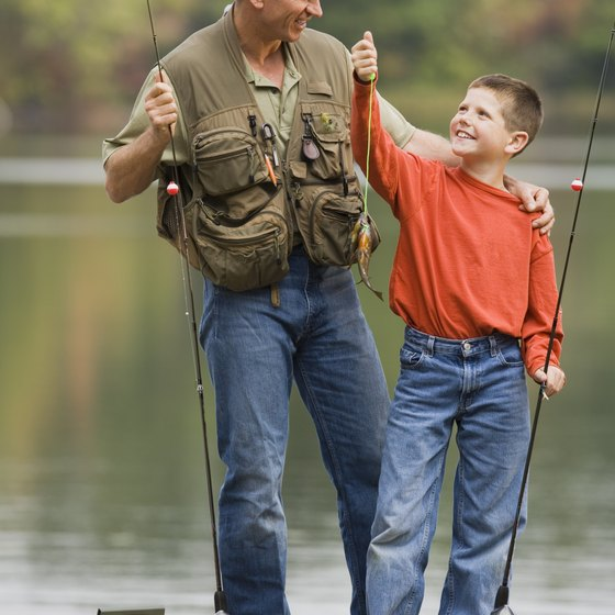 The bodies of water around Augusta offer fishing and other activities.
