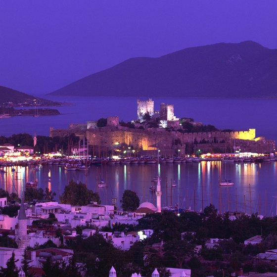 Bodrum is one of Turkey's most popular vacation resorts.