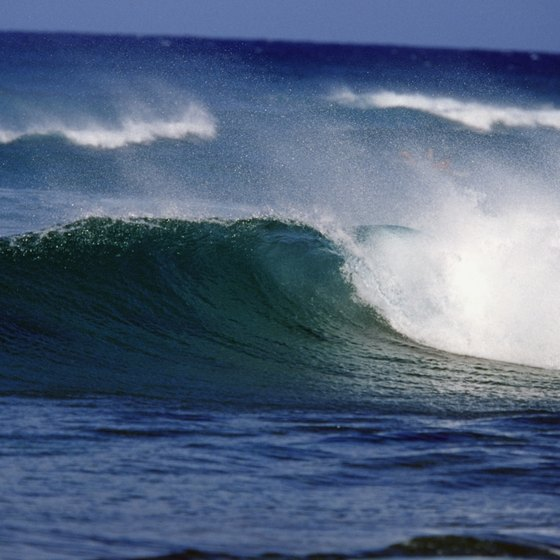 Oahu's leeward side is home to big surf and rugged coastline.