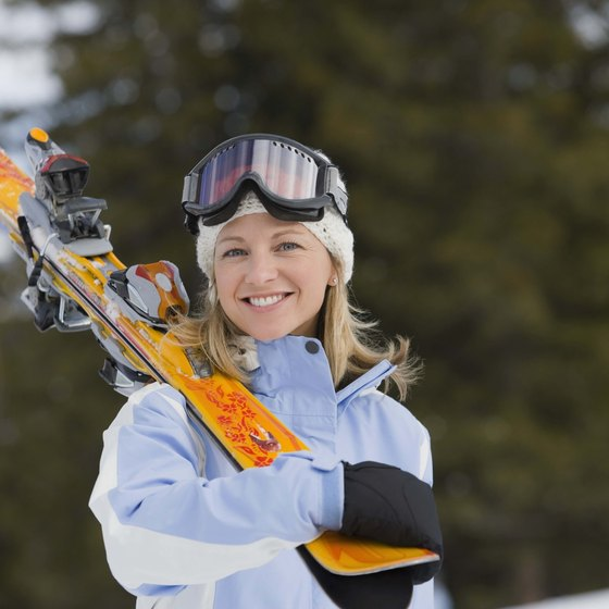 Skiing in Santa Fe is available from Thanksgiving to Easter.