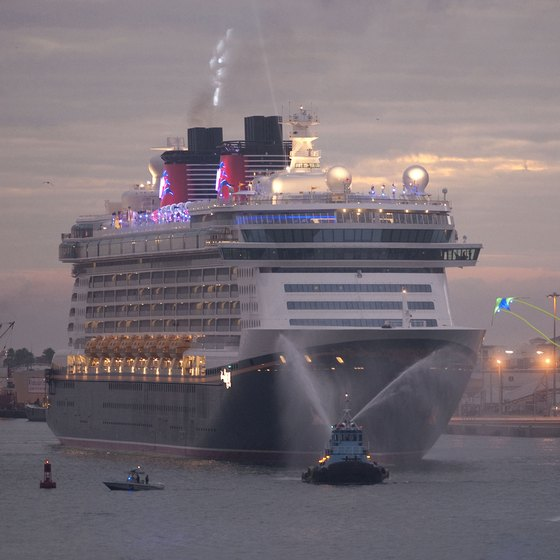 Disney cruise ships offer departures from Port Canaveral.