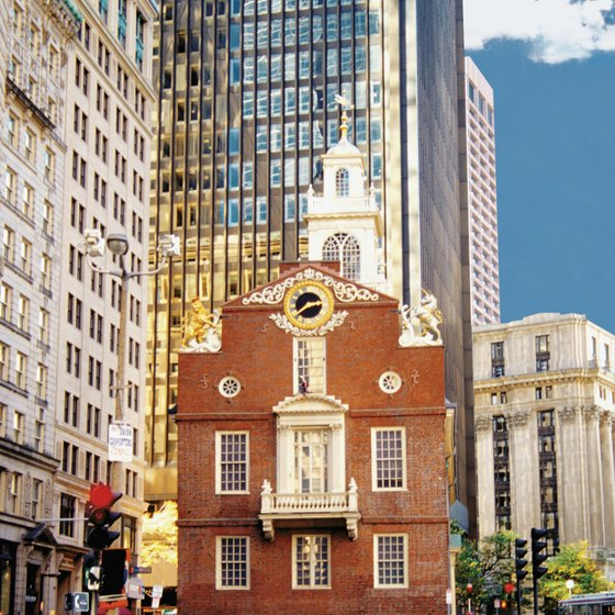 Boston's Old State House is a stop on the Freedom Trail.