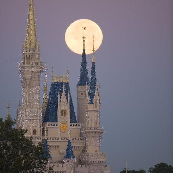 Walt Disney World is a major point of interest in Central Florida.
