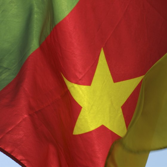 Cameroon's flag was adopted in 1975.