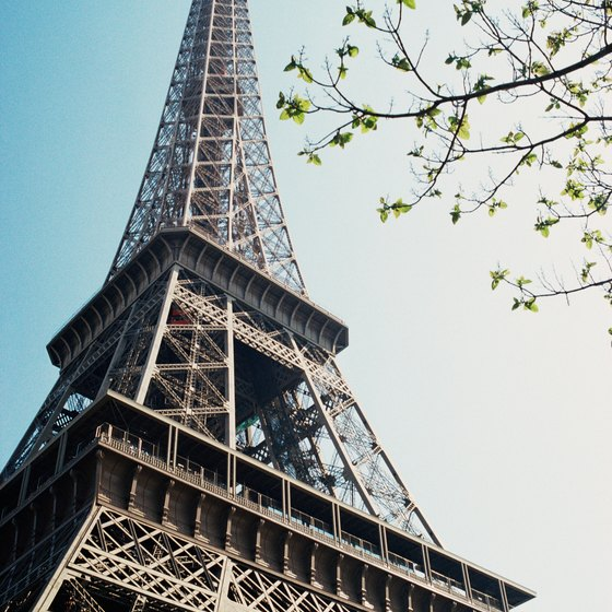 The Eiffel Tower is one stop on an inclusive European tour.
