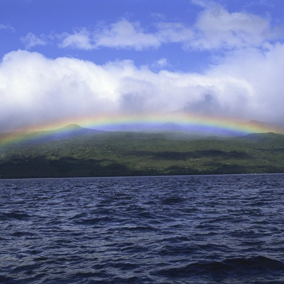 Rainbow over Fiji