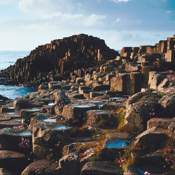 Giant's Causeway in County Antrim.