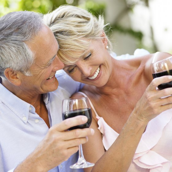Spend a romantic afternoon at a local winery.