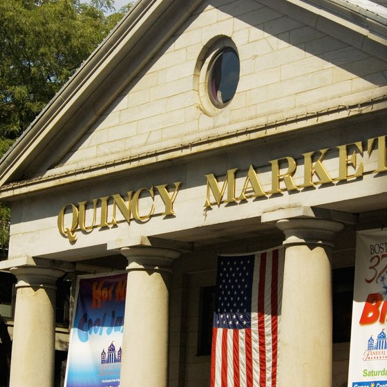 Quincy Market served as Boston's main wholesale produce market until the 1970s.