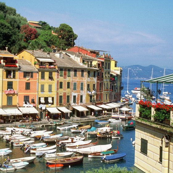 Portofino is centered around its small harbor.