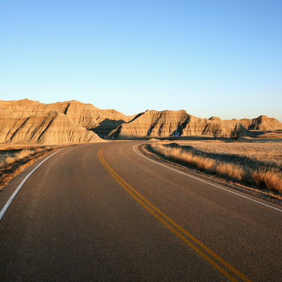 Travel through Badlands National Park a variety of ways.