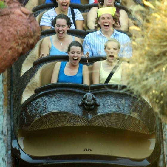 Visit Disney by yourself and go on rides like Splash Mountain as often as you want.