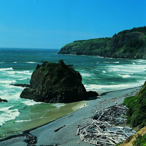 Hundreds of years ago, Tierra Del Mar, Oregon, was a large Native American village.