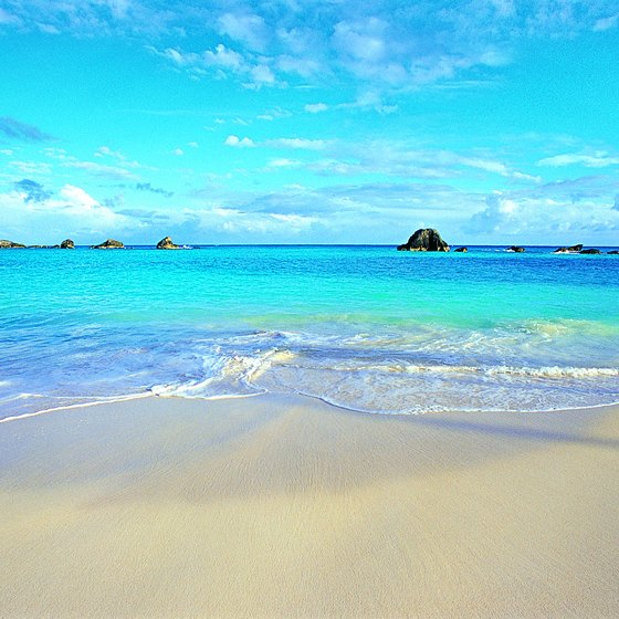 Bermuda's pristine beaches are one of its main tourist attractions.